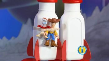 Imaginext Disney Pixar Toy Story 4 Buzz Lightyear Robot TV Spot, 'Trouble' - Thumbnail 2