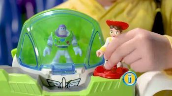 Imaginext Disney Pixar Toy Story 4 Buzz Lightyear Robot TV Spot, 'Trouble' - Thumbnail 5