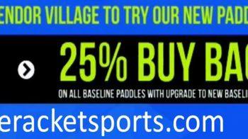 Baseline Racket Sports Splatter Paddle TV Spot, 'Purest Sweet Spot' - Thumbnail 6