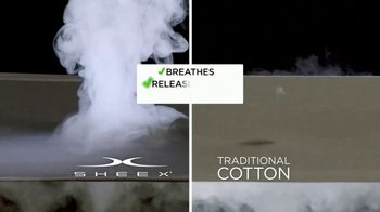 Sheex Performance Sheets TV Spot, 'The Problem With Traditional Cotton Sheets' - Thumbnail 4