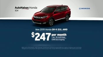 AutoNation July 4th Savings TV Spot, 'Reputation Score: 2019 Honda CR-V' - Thumbnail 4