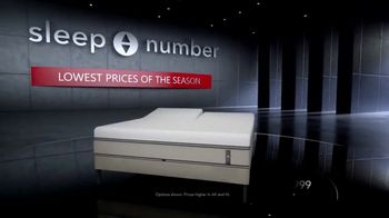 Sleep Number Lowest Prices of the Season TV Spot, 'Hit the Ground Running: Save $400'