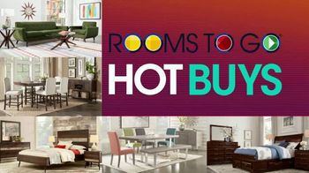 Rooms to Go TV Spot, 'July 4th Hot Buys: Living Room'