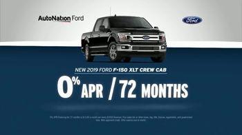 AutoNation July 4th Savings TV Spot, 'Reputation Score: 2019 Ford F-150 XLT Crew Cab' - Thumbnail 3