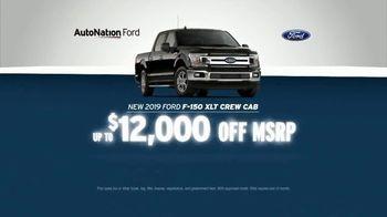 AutoNation July 4th Savings TV Spot, 'Reputation Score: 2019 Ford F-150 XLT Crew Cab' - Thumbnail 4