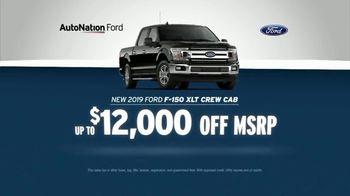 AutoNation July 4th Savings TV Spot, 'Reputation Score: 2019 Ford F-150 XLT Crew Cab'