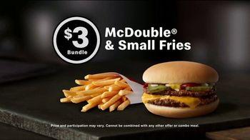 McDonald's $1 $2 $3 Dollar Menu TV Spot, 'Add Some Delicious: $3 Bundle' - Thumbnail 3