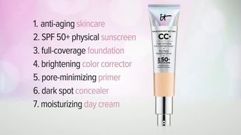 IT Cosmetics CC+ Cream TV Spot, 'Foundation'