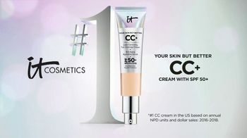 IT Cosmetics Your Skin But Better CC+ Cream TV Spot, 'Foundation' - Thumbnail 10