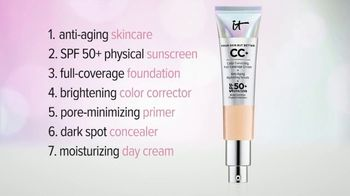 IT Cosmetics Your Skin But Better CC+ Cream TV Spot, 'Foundation' - 2814 commercial airings