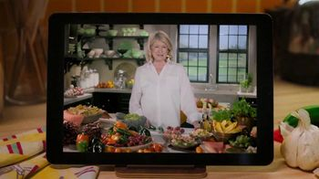 Postmates TV Spot, 'Spicy Mexican Salsa' Featuring Martha Stewart