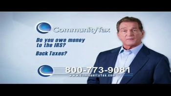 Community Tax Relief TV Spot, 'Rules and Regulation' Featuring Joe Theismann