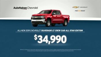 AutoNation July 4th Savings TV Spot, 'Reputation Score: 2019 Silverado LT Crew Cab'