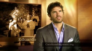 Catholics Come Home TV Spot, 'Católicos regresen' con Eduardo Verástegui [Spanish] - Thumbnail 1