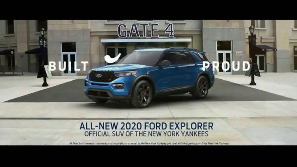 2020 Ford Explorer TV Commercial, 'Welcome to the Playoffs' [T2]