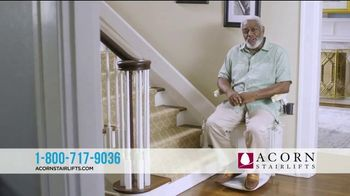 Acorn Stairlifts TV Spot, 'Tom'