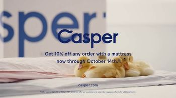 Casper TV Spot, 'The Sweetest Review: Save 10 Percent' - Thumbnail 10