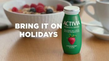 Dannon Activia TV Spot, 'Bring It on Holidays' - Thumbnail 10