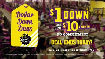 Planet Fitness Dollar Down Days TV Spot, 'It's On' - Thumbnail 10