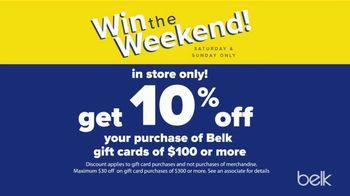 Belk Columbus Day Sale TV Spot, 'Win the Weekend' - Thumbnail 5