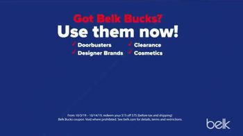Belk Columbus Day Sale TV Spot, 'Win the Weekend' - Thumbnail 9
