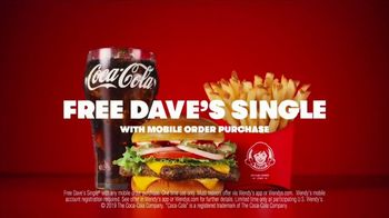 Wendy's Dave's Single TV Spot, 'Official Hamburger' - Thumbnail 10
