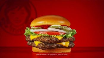 Wendy's Dave's Single TV Spot, 'Official Hamburger' - Thumbnail 4