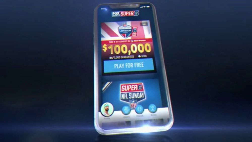 FOX Sports App TV Commercial, 'Super 6' - iSpot.tv