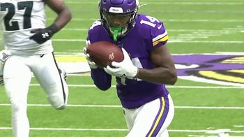 GEICO TV Spot, 'Play of the Day: Stefon Diggs' - 2 commercial airings
