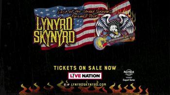 Lynyrd Skynyrd Last of the Street Survivors Tour TV Spot, '2019 October: Toyota Amphitheater' - Thumbnail 10