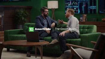 TD Ameritrade thinkorswim TV Spot, 'The Green Room: Trading, Tailor-Made'
