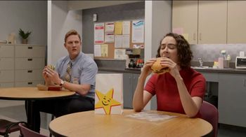 Carl\'s Jr. Big Carl Combo TV Spot, \'Burger Wolf\'