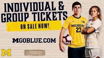 Michigan Athletics TV Spot, '2019 Soccer Season: Individual and Group Tickets' - Thumbnail 8