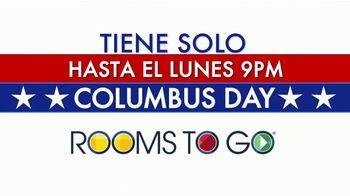 Rooms to Go TV Spot, '2019 Columbus Day: hasta el lunes' [Spanish] - Thumbnail 2