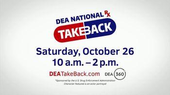 US Drug Enforcement Administration (DEA) TV Spot, '2019 DEA Takeback Day: Pills' - Thumbnail 10