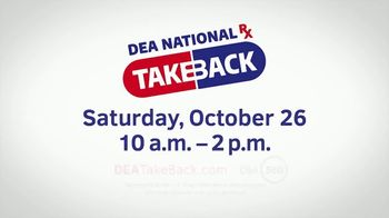 US Drug Enforcement Administration (DEA) TV Spot, '2019 DEA Takeback Day: Pills' - Thumbnail 9