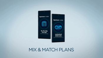 Spectrum Mobile Family Plans TV Spot, 'Mix & Match' - Thumbnail 3