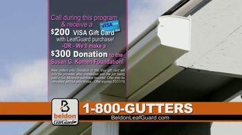 Beldon LeafGuard TV Spot, 'Beldon Cares: Breast Cancer' - Thumbnail 9