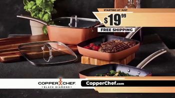 Copper Chef Black Diamond TV Spot, 'Space Saving System' - Thumbnail 8