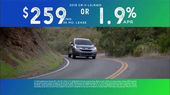 2019 Honda CR-V TV Spot, 'Take a Closer Look' [T2] - Thumbnail 7