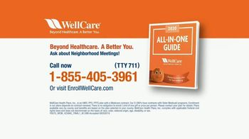 WellCare TV Spot, 'Good News For Medicare Beneficiaries: All-In-One Guide' - Thumbnail 8