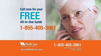 WellCare TV Spot, 'Good News For Medicare Beneficiaries: All-In-One Guide' - Thumbnail 7