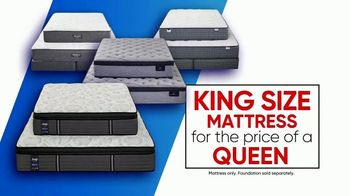 Rooms to Go Columbus Day Mattress Sale TV Spot, 'Four Great Brands' - Thumbnail 2