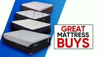 Rooms to Go Columbus Day Mattress Sale TV Spot, \'Four Great Brands\'