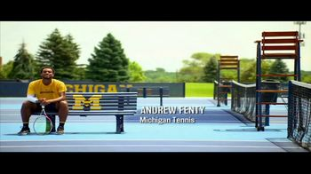 Big Ten Conference TV Spot, 'Faces of the Big Ten: Andrew Fenty'