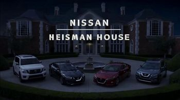 Nissan TV Spot, 'Heisman House: Not in the Heisman House' Ft. Bo Jackson, Tim Tebow, Kyler Murray [T1] - Thumbnail 1