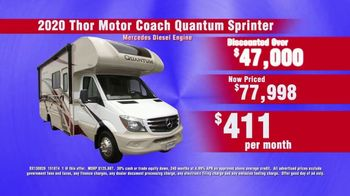 La Mesa RV I-80 RV Show TV Spot, 'Thor Motor Quantum Sprinter' - Thumbnail 6