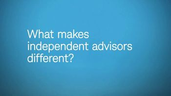 Charles Schwab TV Spot, 'What Makes Independent Advisors Different' - Thumbnail 1