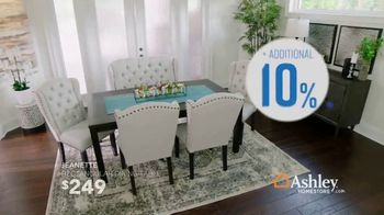 Ashley HomeStore Columbus Day Sale TV Spot, 'Geashill Sofa and Jeanette Rectangular Dining Table' - Thumbnail 5