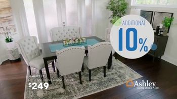 Ashley HomeStore Columbus Day Sale TV Spot, 'Geashill Sofa and Jeanette Rectangular Dining Table' - Thumbnail 6